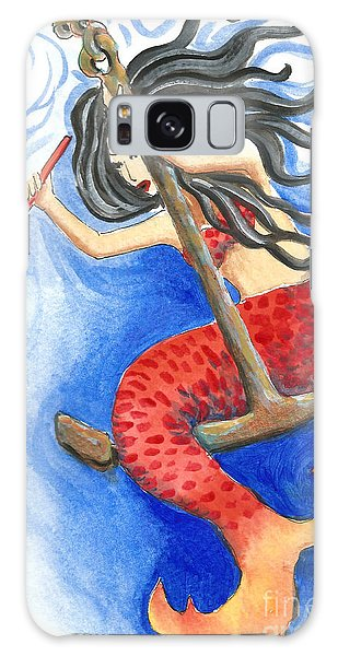Warrior Mermaid Galaxy Case
