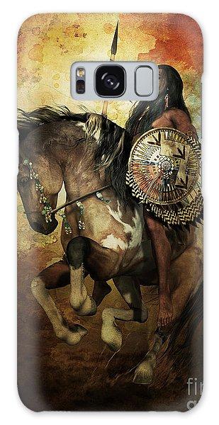 Native American Galaxy Case - Warrior by Shanina Conway
