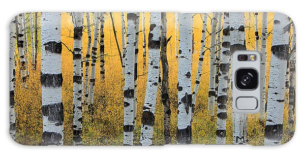 Autumn Galaxy Case - Wasatch Aspens by Johnny Adolphson