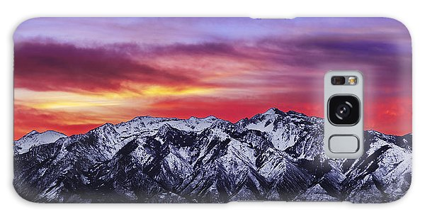 Wasatch Sunrise 2x1 Galaxy Case by Chad Dutson