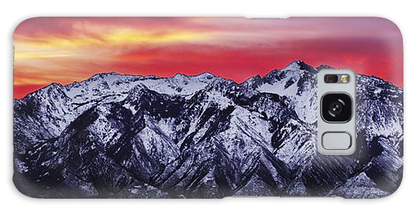 Wasatch Sunrise 3x1 Galaxy Case by Chad Dutson