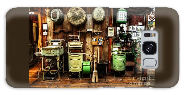 Washing Machines Of Yesteryear Galaxy Case by Kaye Menner