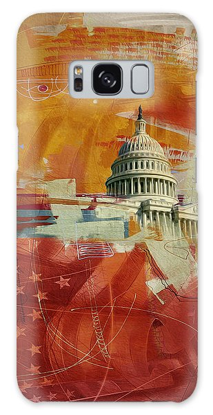Central America Galaxy Case - Washington City Collage 4 by Corporate Art Task Force