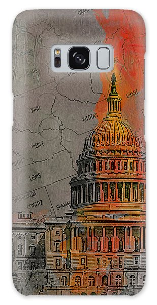 Central America Galaxy Case - Washington City Collage by Corporate Art Task Force