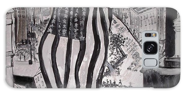 Washington D.c. 1920 Parade Galaxy Case by Leslie Byrne