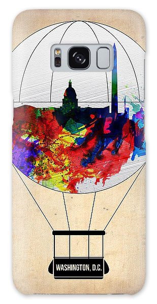 Washington D.c Galaxy Case - Washington D.c. Air Balloon by Naxart Studio