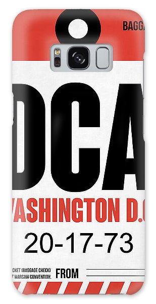 Washington D.c Galaxy Case - Washington D.c. Airport Poster 1 by Naxart Studio