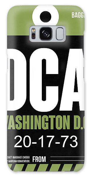 Washington D.c Galaxy Case - Washington D.c. Airport Poster 2 by Naxart Studio