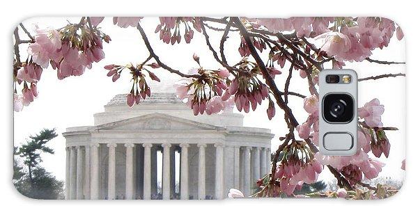 Washington Dc In Bloom Galaxy Case