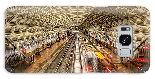 Washington Dc Metro Station Xi Galaxy Case by Clarence Holmes