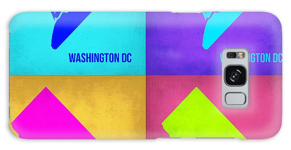 City Map Galaxy Case - Washington Dc Pop Art Map 1 by Naxart Studio