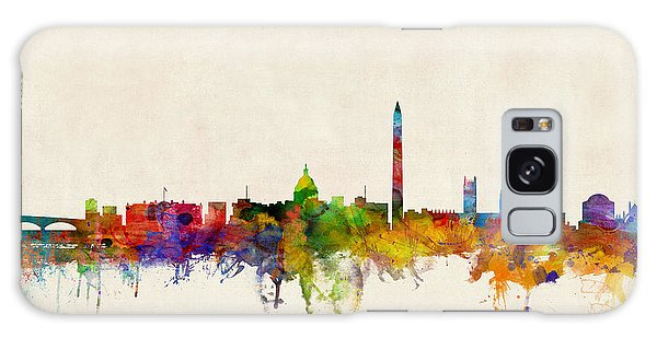 Cityscape Galaxy Case - Washington Dc Skyline by Michael Tompsett