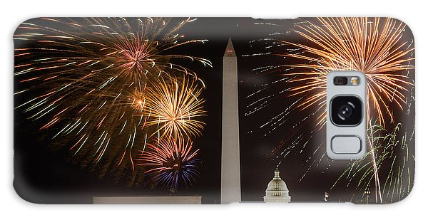 Washington Fireworks Galaxy Case