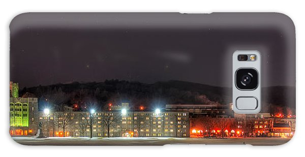 Washington Hall At Night Galaxy Case