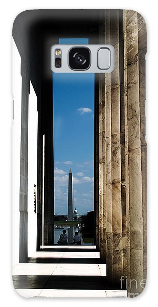 Washington Monument Color Galaxy Case by Angela DeFrias