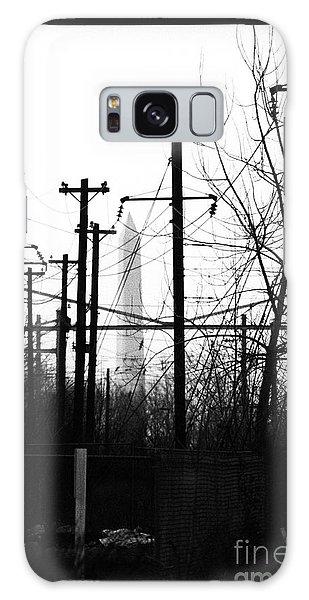 Washington Monument From The Train Yard. Washington Dc Galaxy Case