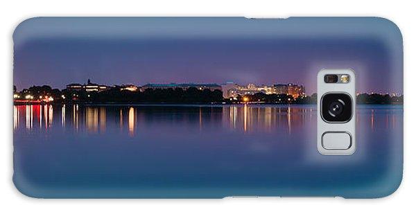 Washington Skyline Galaxy Case by Sebastian Musial