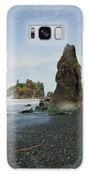 Washington State Seashore Galaxy Case