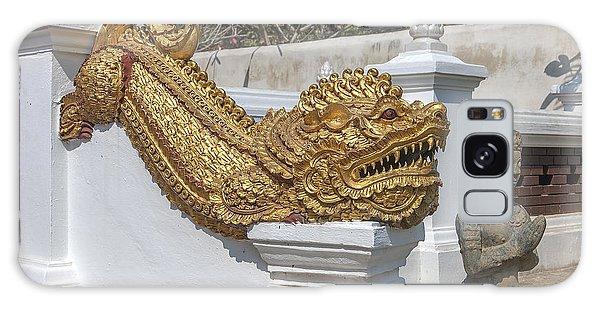 Wat Chedi Liem Phra Ubosot Gate Makara Dthcm0836 Galaxy Case