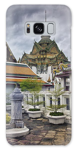 Wat Pho Temple Gardens Galaxy Case