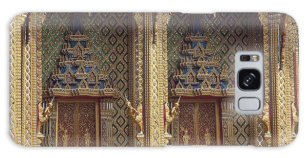 Wat Thung Setthi Ubosot Window Dthb1550 Galaxy Case