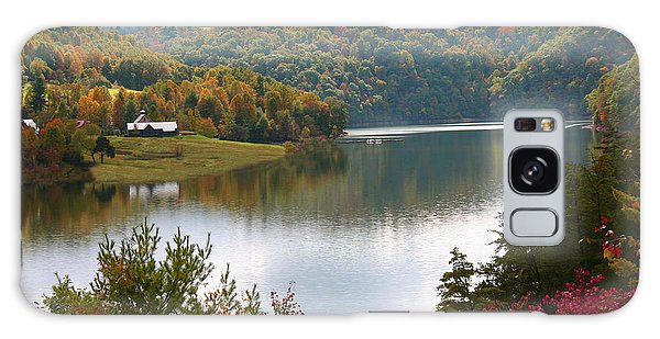 Watauga Lake Autumn Galaxy Case by Annlynn Ward