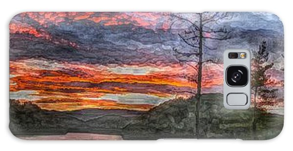 Watauga Lake Sunset Galaxy Case