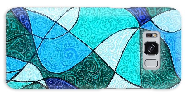 Water Abstract Galaxy Case