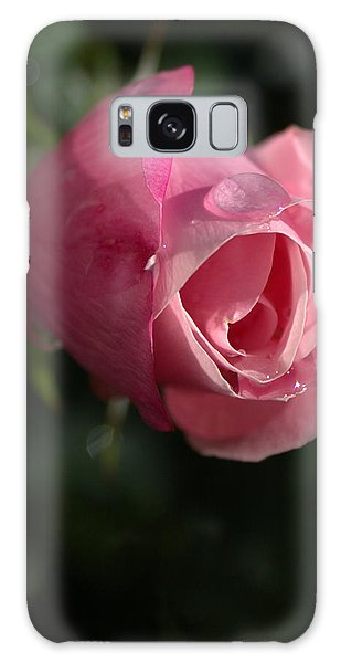 Water And Rose Galaxy Case