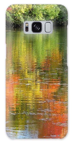 Water Colors Galaxy Case by Ann Horn