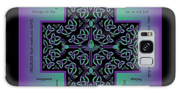 Water Dragon Celtic Cross Galaxy Case