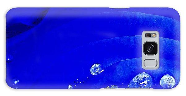 Water Droplets  Galaxy Case by Carolyn Repka