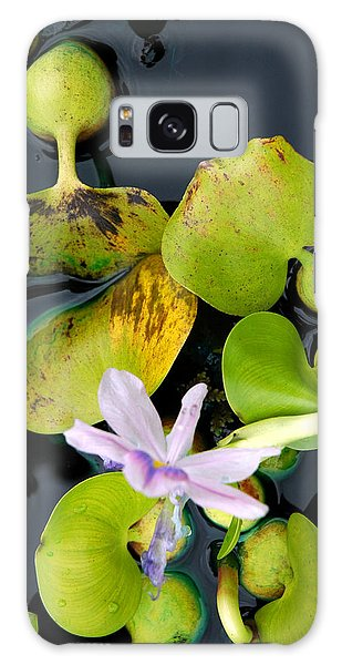 Water Flower Galaxy Case