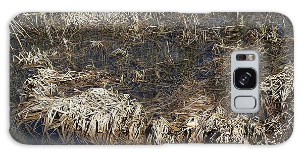 Dried Grass In The Water Galaxy Case by Teo SITCHET-KANDA