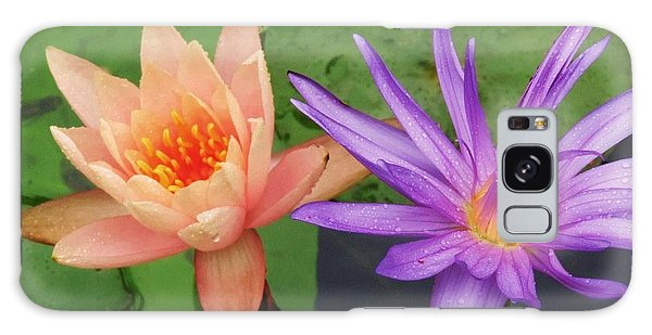 Water Lilies 011 Galaxy Case