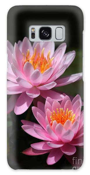 Water Lilies Love The Sun Galaxy Case