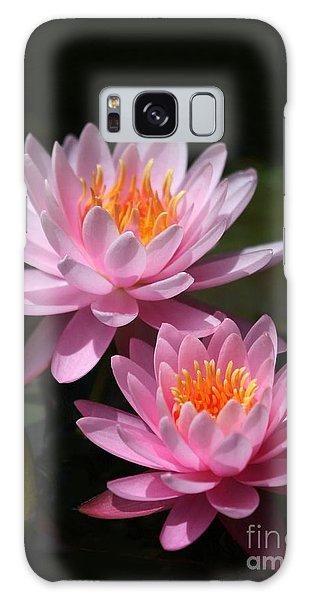 Water Lilies Love The Sun Galaxy Case