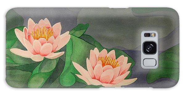 Water Lilies Galaxy Case by Paul Amaranto