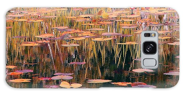 Water Lilies Re Do Galaxy Case