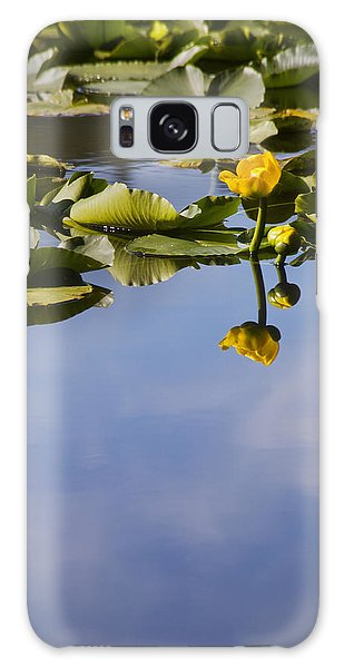 Water Lily Daydreams Galaxy Case