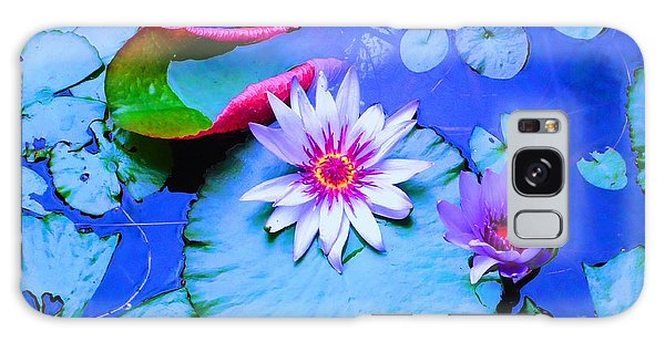 Water Lily I Galaxy Case