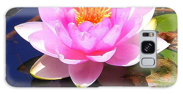Water Lily In Pink Galaxy Case