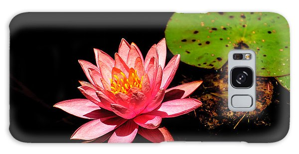 Water Lily Galaxy Case by John Johnson
