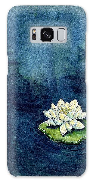 Water Lily Galaxy Case by Katherine Miller