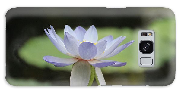 Water Lily Galaxy Case by Lynn England