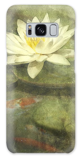 Lily Galaxy Case - Water Lily by Scott Norris