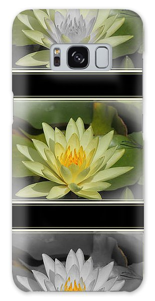 Water Lily Galaxy Case by Teresa Schomig