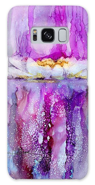 Water Lily Wonder Galaxy Case