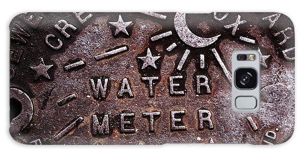 Water Meter Galaxy Case by John Rizzuto