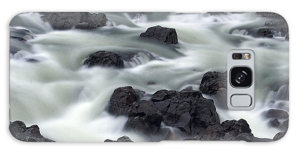 Water Over Rocks Galaxy Case